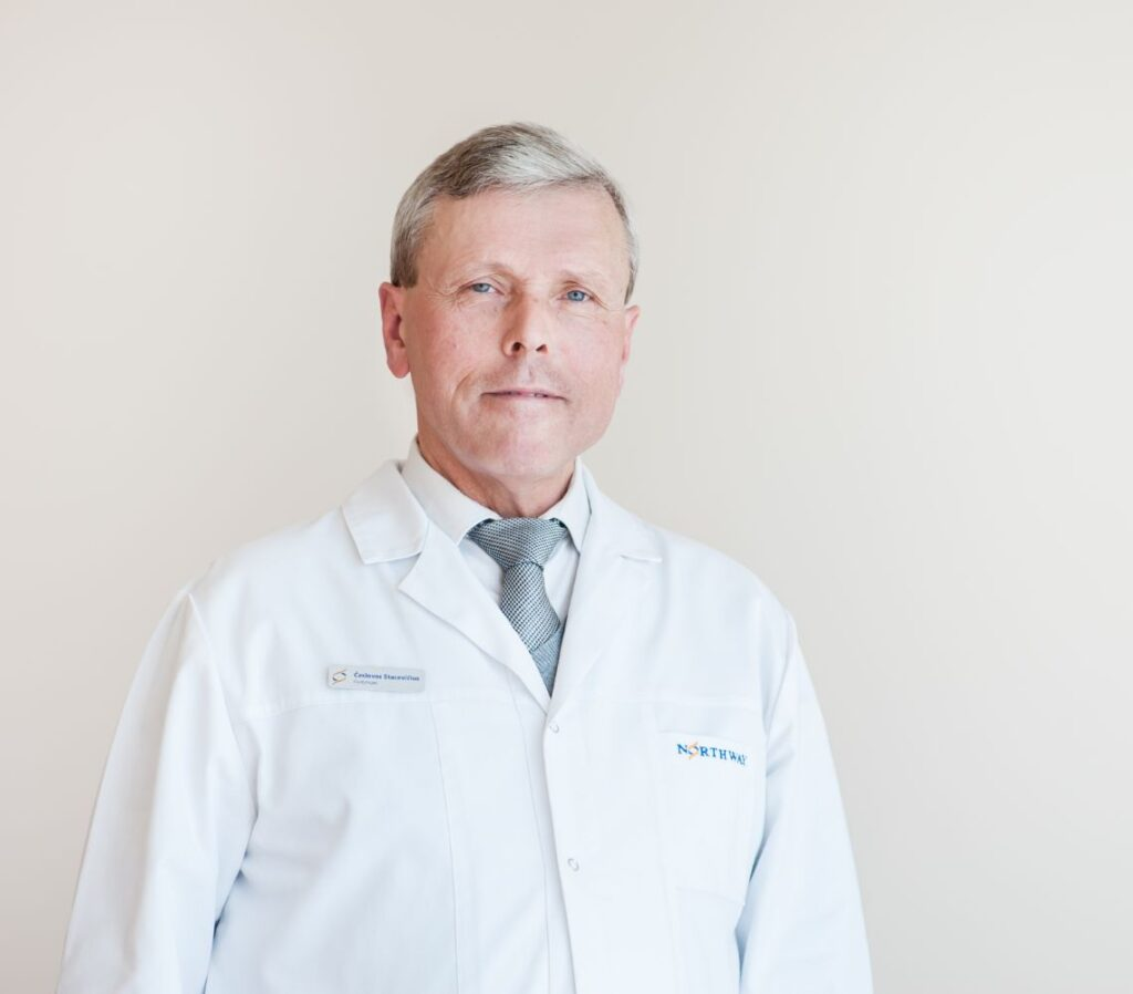 Northway Gastroenterologas Česlovas Stacevičius 1024x898